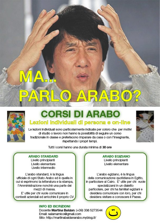 Corsi di Arabo